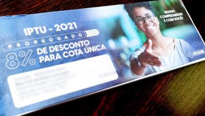 Vencimento do IPTU é prorrogado em Araxá
