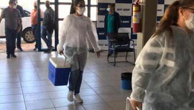 Prefeitura de Araxá muda local de vacinação da Covid-19 para pessoas de 59 anos